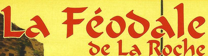 La Féodale blonde bannière